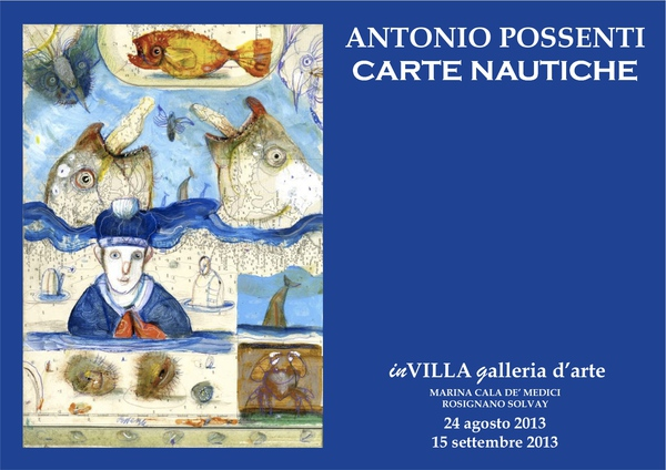ANTONIO POSSENTI in Carte Nautiche