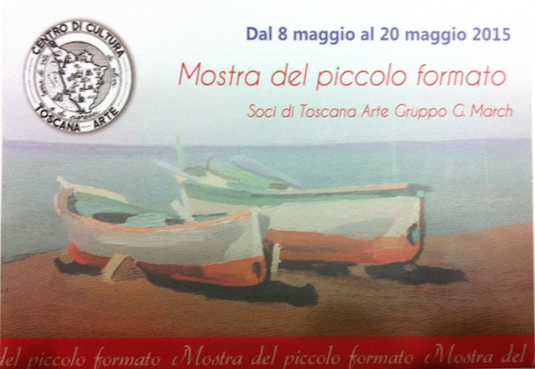 Mostra piccolo formato- Toscana Arte G.March